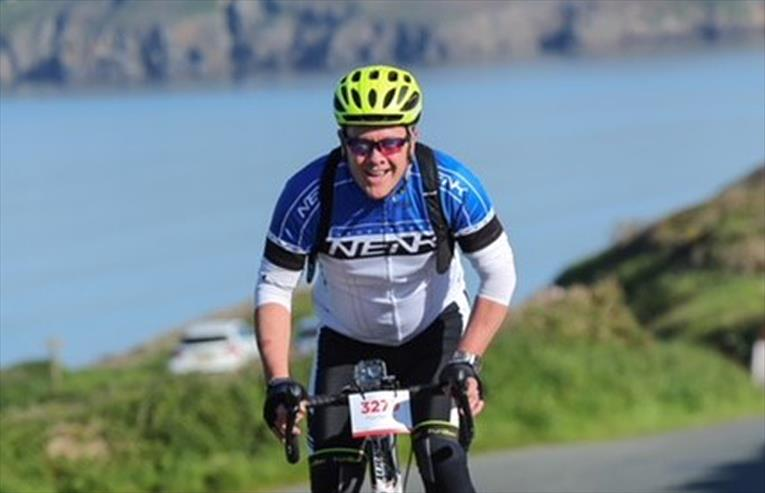 Andy Johnson takes on gruelling cycle challenge for charity