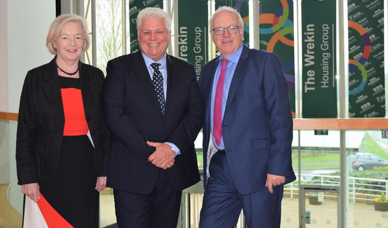 New Group Chief Executive: Anne, Wayne and Des