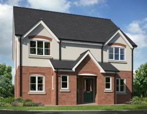 Bushbury Hill artist impression of new homes