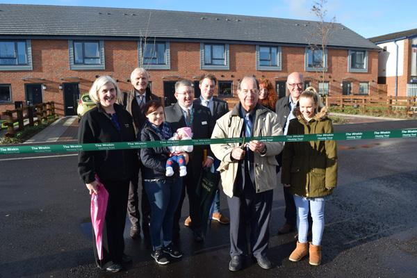 Craven Arms ribbon cutting