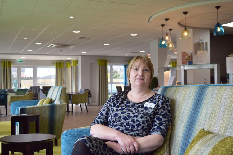Heather, manager at new ShireLiving scheme Withywood