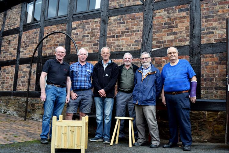 The team from Men in Sheds