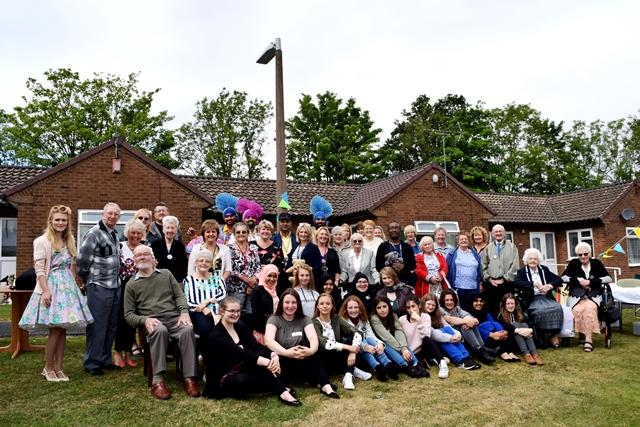 Wrekin Retirment Living get together for Jo Cox