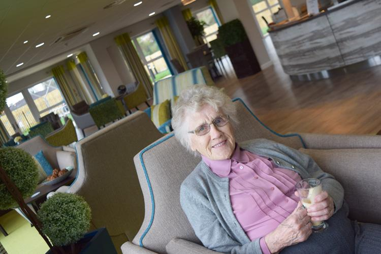 Thelma at new ShireLiving scheme in Shrewsbury