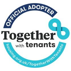 Together with Tenants badge