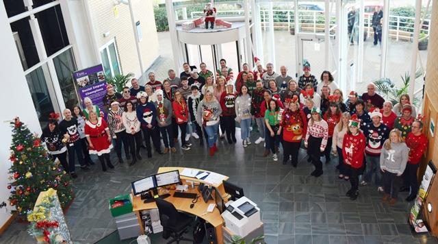 WHT Christmas jumper day 2018